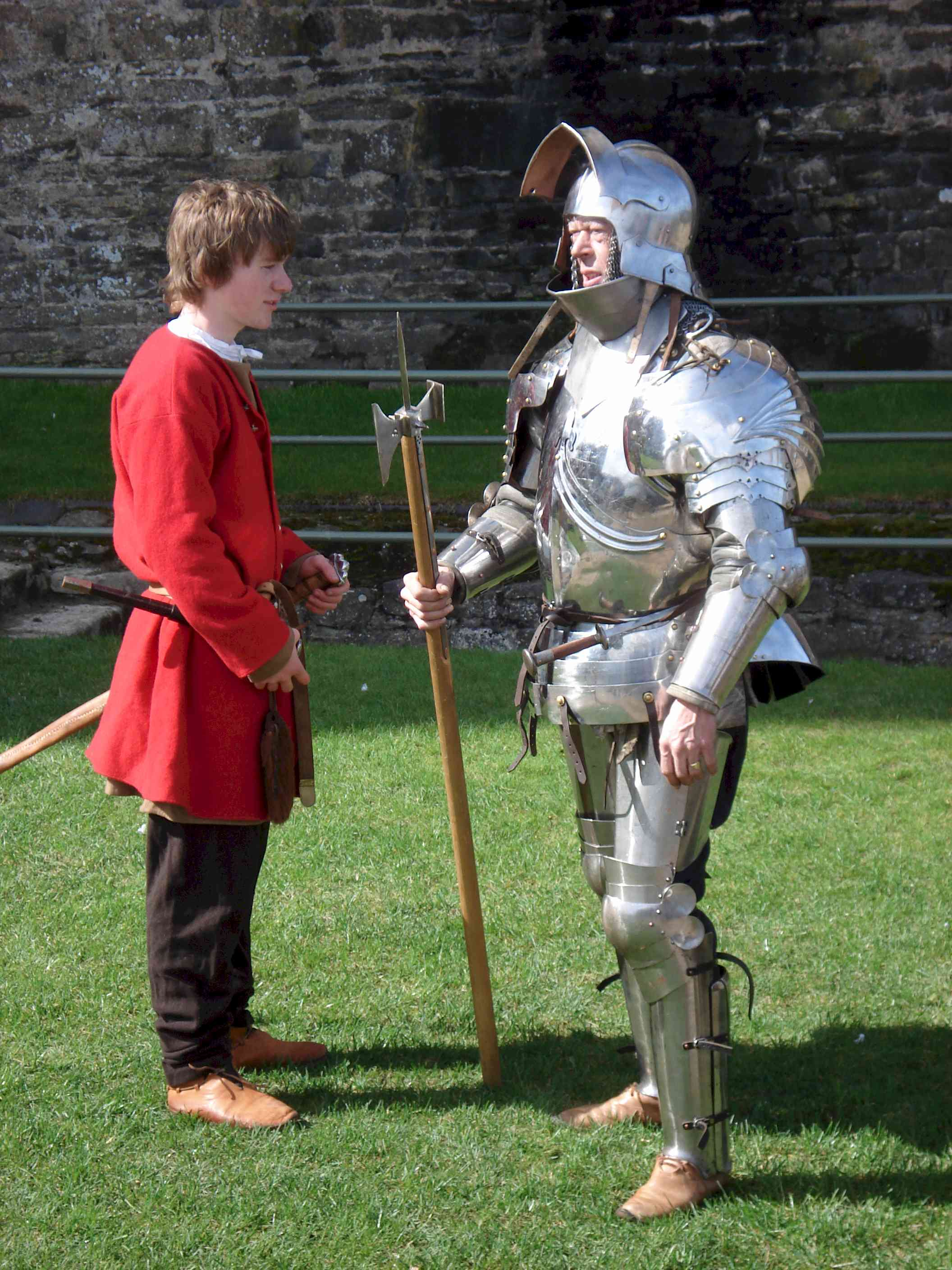 15 Cent Knight with Squire